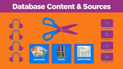 Click here to view the video titled Using a Library Database
