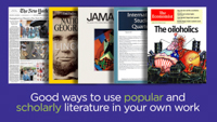 Click here to view the video titled Popular & Scholarly Sources
