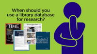 What is a Library Research Database? video thumbnail